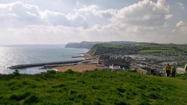 The view from the Cliffs